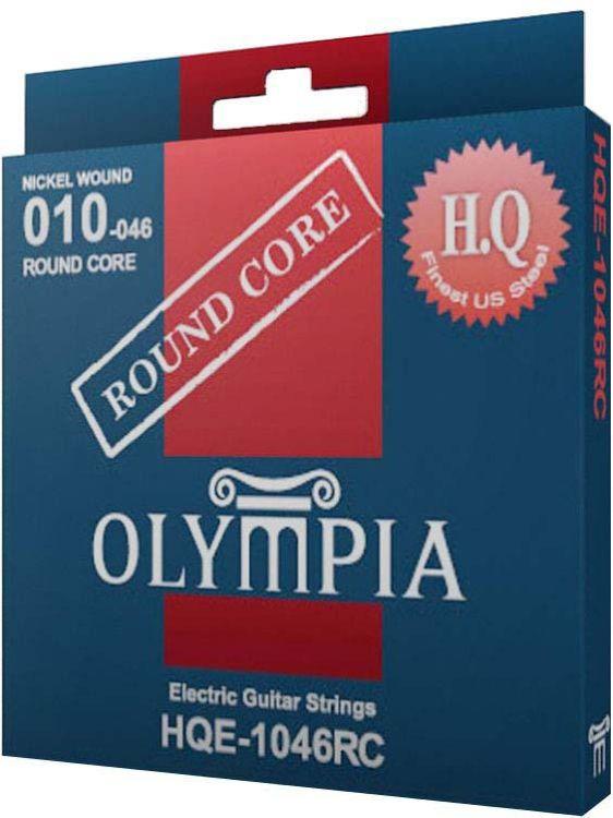 Струны для электрической гитары Olympia Round Core (10-13-17-26w-36-46), HQE1046RC