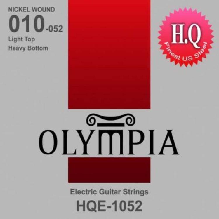Струны для электрической гитары Olympia Nickel Wound (10-13-17-30w-42-52), HQE1052