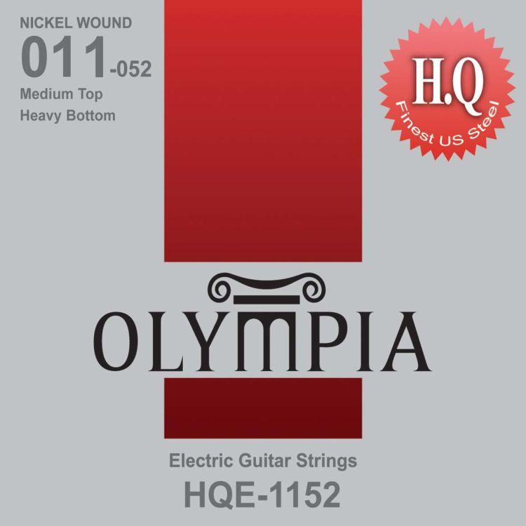 Струны для электрической гитары Olympia Nickel Wound (11-15-22w-32-42-52), HQE1152