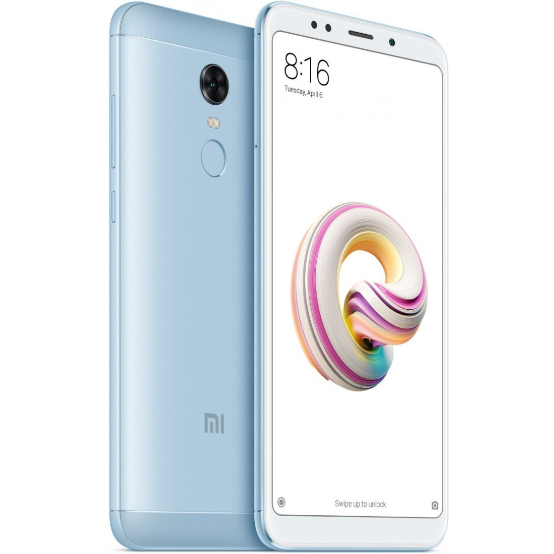 Смартфон Xiaomi Redmi 5 Plus 4/64GB blue смартфон xiaomi redmi 5 plus 32gb blue