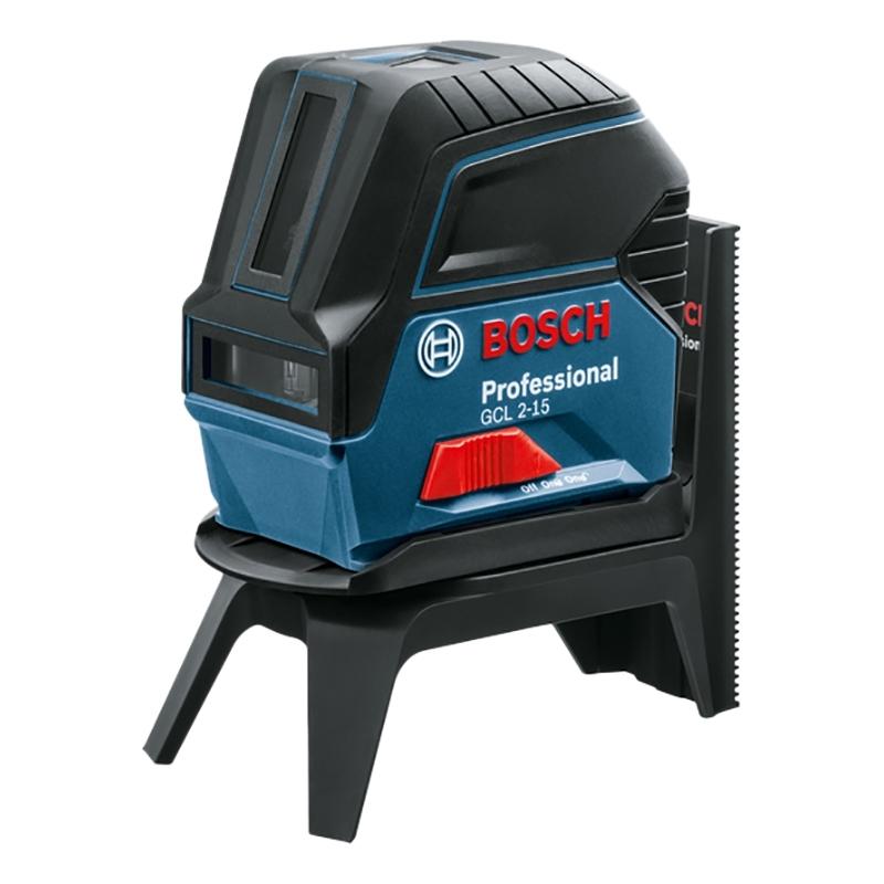Лазерный уровень/нивелир BOSCH GCL 2-15+RM1 нивелир лазерный ротационный bosch grl 500 h lr 50 0 601 061 a00