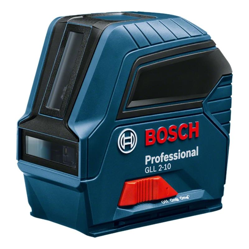 Лазерный уровень/нивелир BOSCH GLL 2-10 нивелир лазерный ротационный bosch grl 500 h lr 50 0 601 061 a00