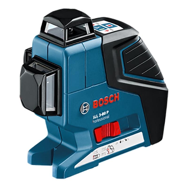 Лазерный уровень/нивелир BOSCH GLL 3-80 + кейс нивелир лазерный ротационный bosch grl 500 h lr 50 0 601 061 a00