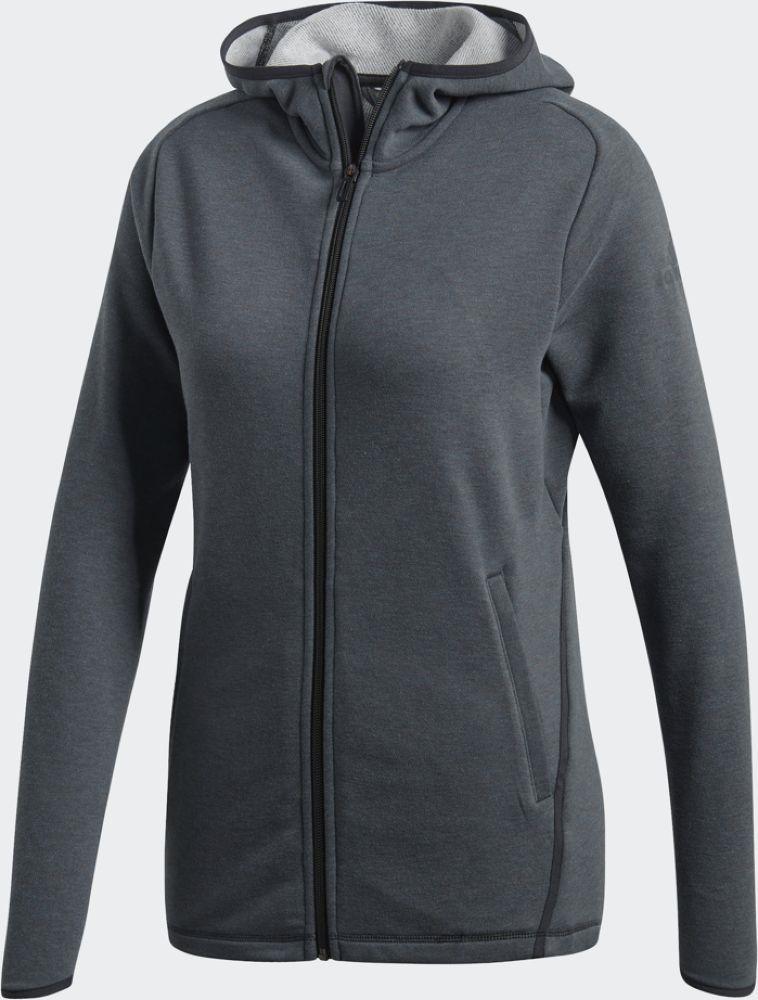 Худи женское Adidas Fl Prime Hoodie, цвет: темно-серый. CZ8087. Размер S (44)CZ8087