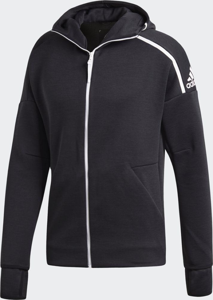 Худи мужское Adidas M Zne Hd Fr, цвет: черный. DM5543. Размер L (52/54)DM5543