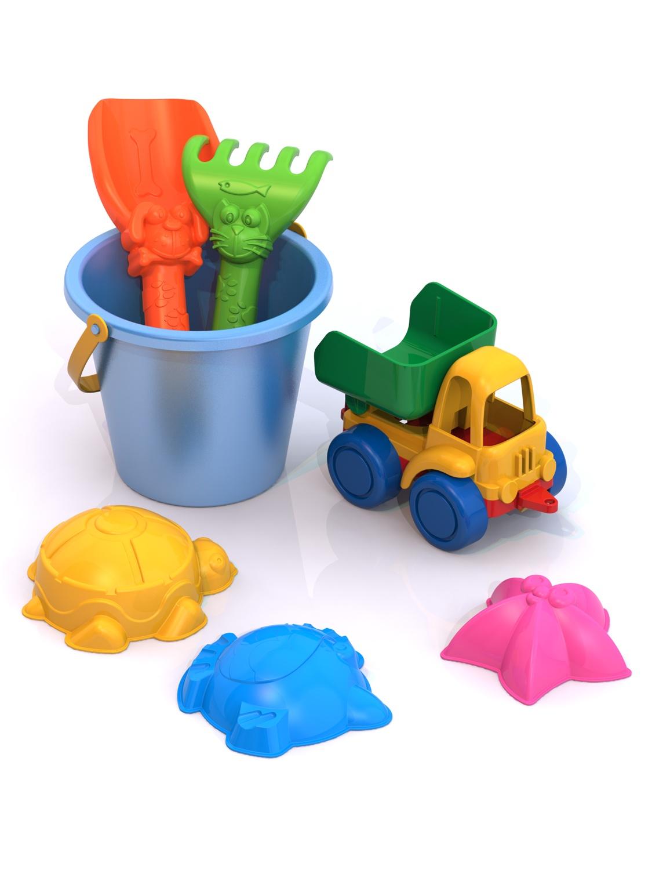 Игровой набор Нордпласт 431734 набор машинок игрушечных нордпласт строительная техника нордик