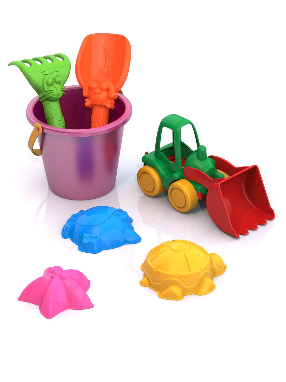 Игровой набор Нордпласт 431733 набор машинок игрушечных нордпласт строительная техника нордик