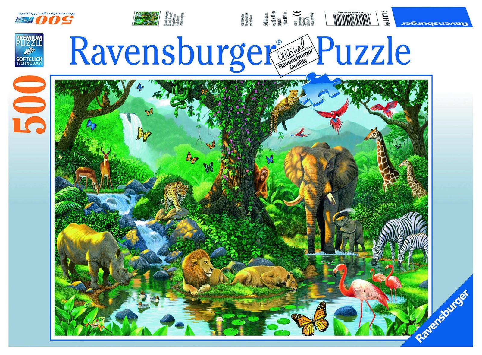 цена на Пазл Ravensburger Гармония джунглей 500 шт арт.14171