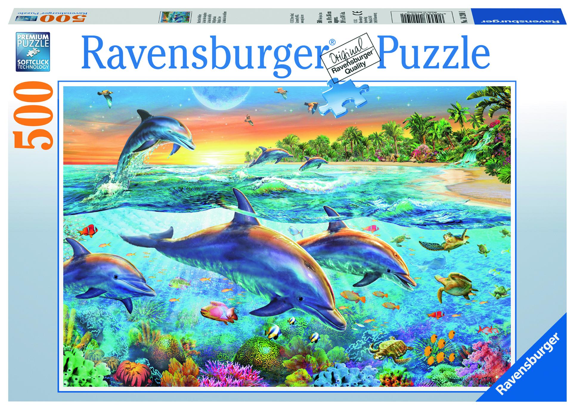 Пазл Ravensburger Бухта дельфинов 500 шт арт.14210 ravensburger пазл бухта дельфинов 500 шт