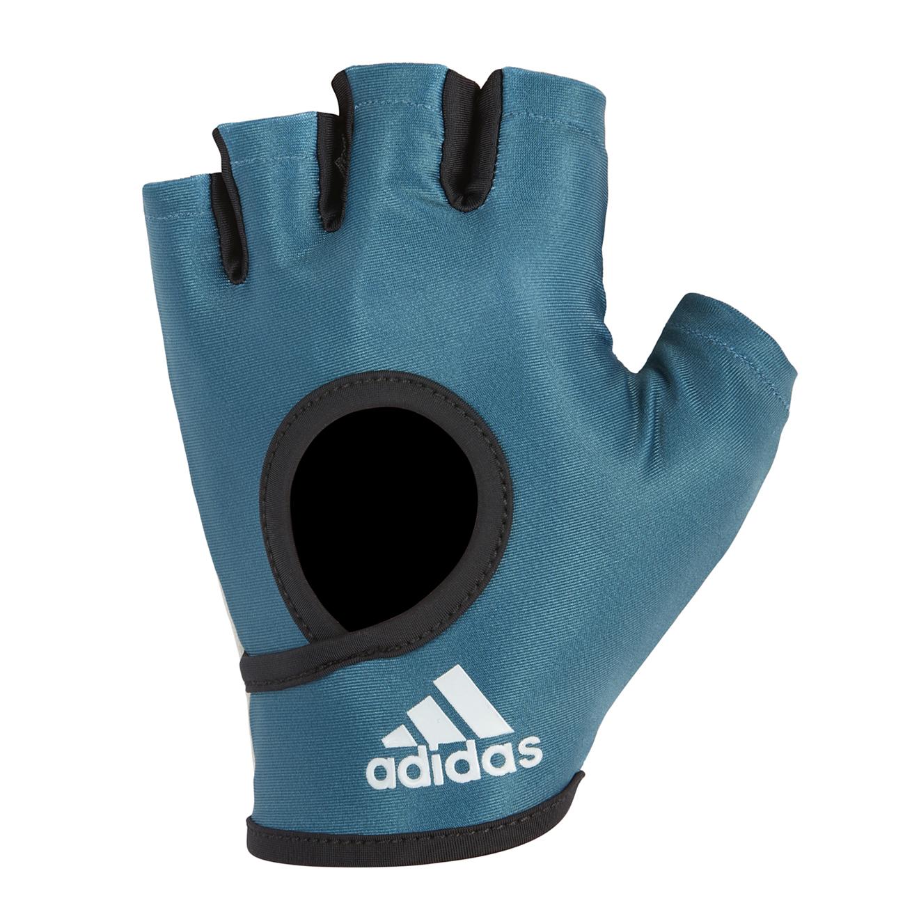 Перчатки для фитнеса Adidas ADGB-12623, синий перчатки adidas для фитнеса белые размер m adgb 12322 wh
