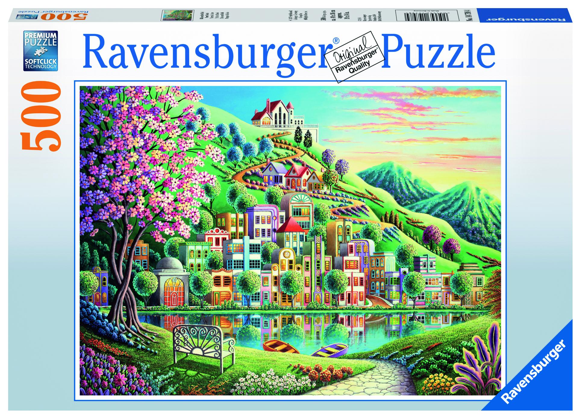 цена на Пазл Ravensburger Цветочный парк 500 шт. арт.14798
