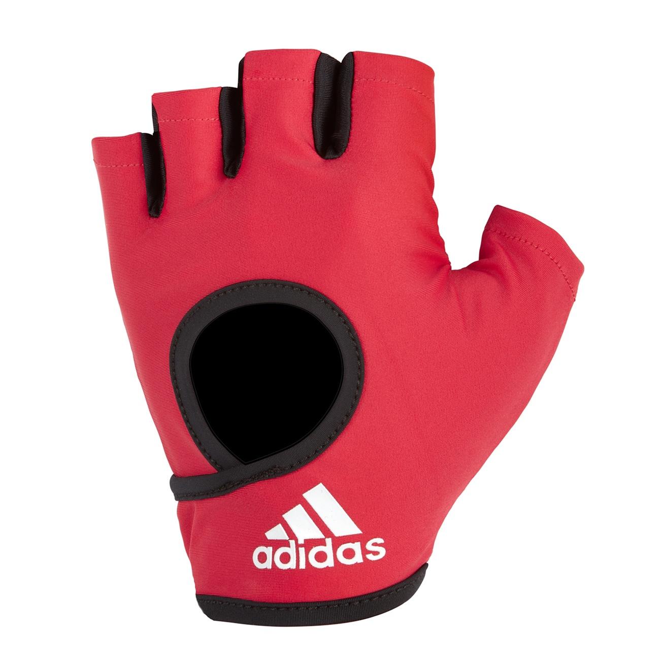 Перчатки для фитнеса Adidas ADGB-12615, розовый перчатки adidas для фитнеса белые размер m adgb 12322 wh