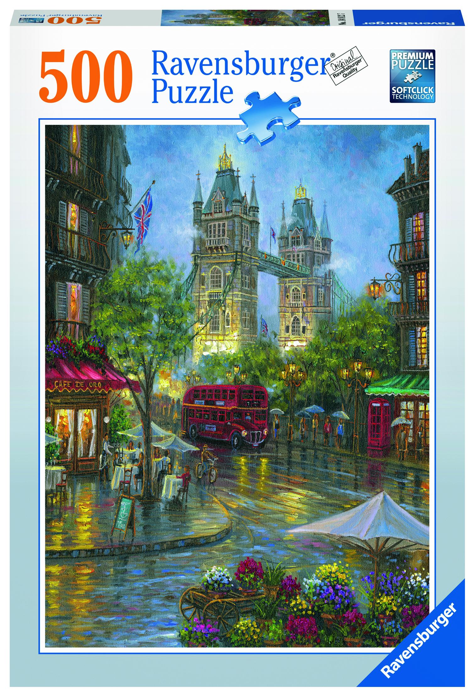 Пазл Ravensburger Живописный Лондон 500 шт арт.14812 ravensburger пазл бухта дельфинов 500 шт