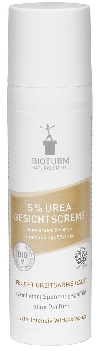 Крем для ухода за кожей Bioturm BIOTURM Крем с 5% мочевиной для лица Nr.7, 75 мл мази от розацеа
