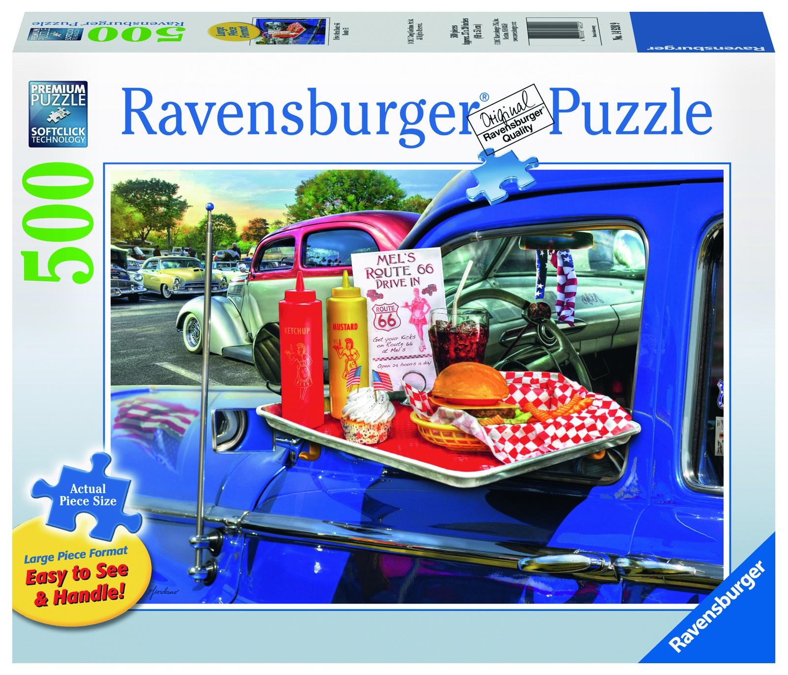 цена на Пазл Ravensburger На шоссе 66 500 шт арт.14920