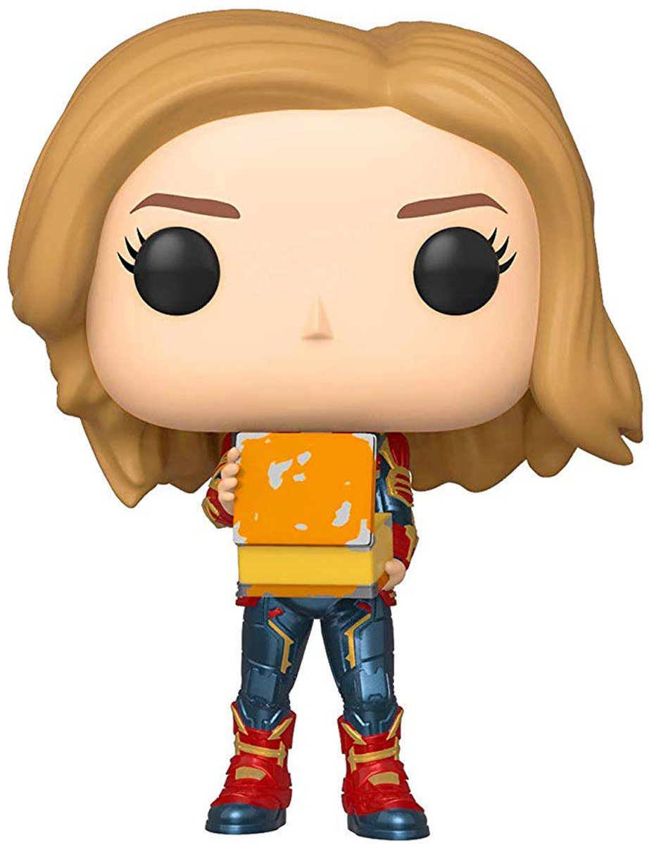Фигурка Funko POP! Bobble: Marvel: Captain Marvel w/Lunch Box 37685