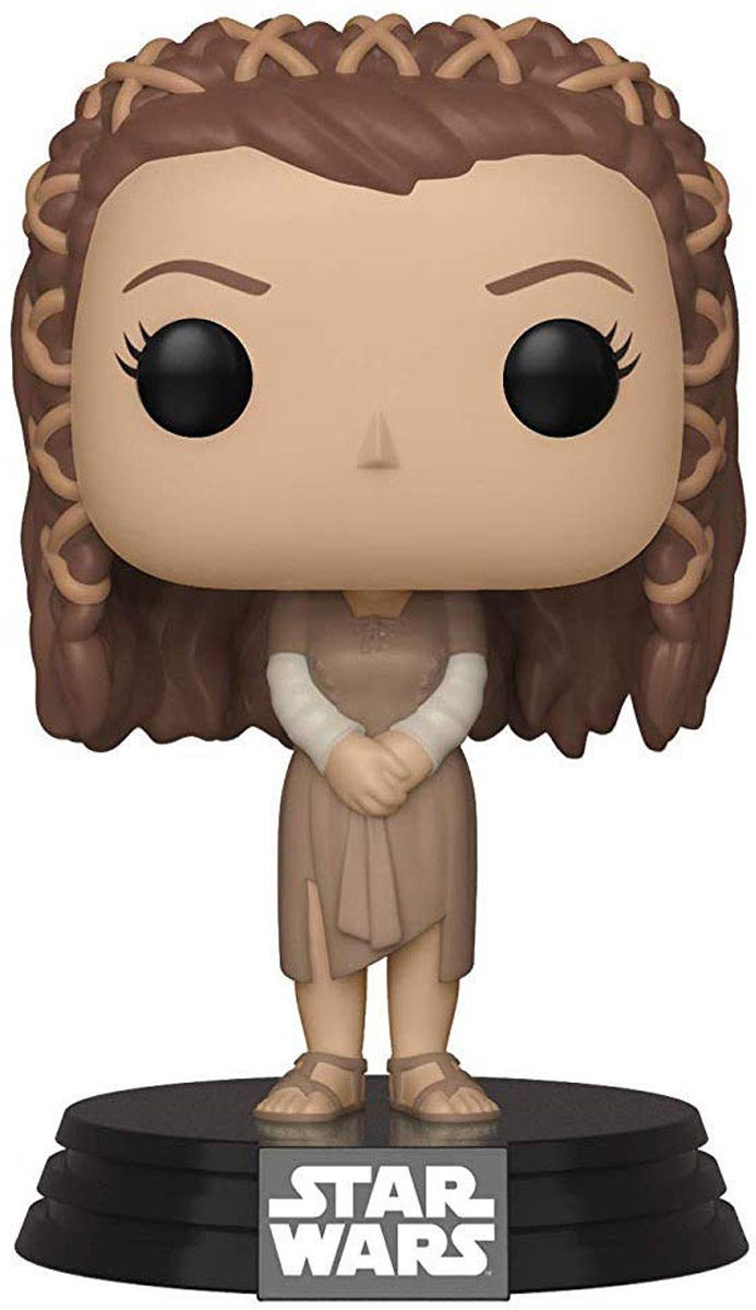 Фигурка Funko POP! Bobble: Star Wars: Ewok Village Leia 37526 funko pop bobble фигурка star wars rogue one young jyn erso 14872