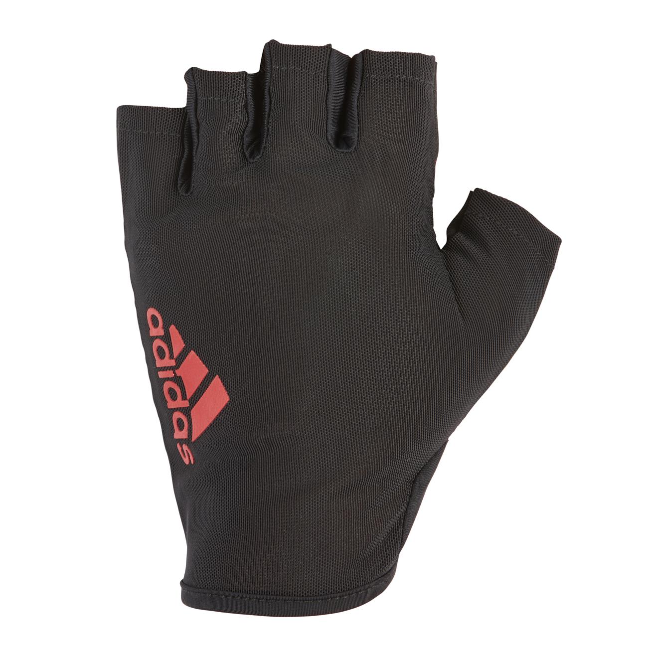 Перчатки для фитнеса Adidas ADGB-12515, красный перчатки adidas для фитнеса белые размер m adgb 12322 wh