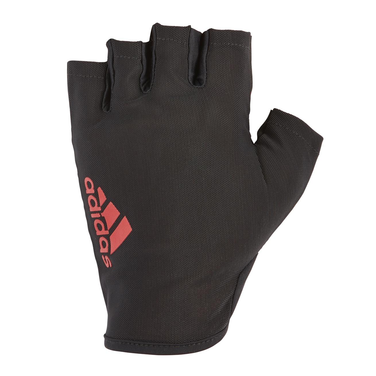 Перчатки для фитнеса Adidas ADGB-12513, красный перчатки adidas для фитнеса белые размер m adgb 12322 wh