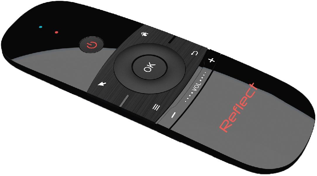 Пульт ДУ Reflect 17399, черный nexbox a5 s905x 4k kodi android 6 0 tv box