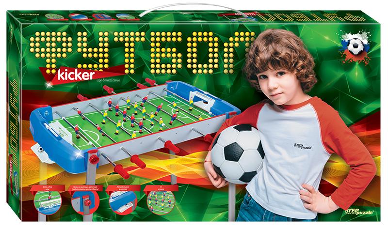 Спортивная настольная игра Step Puzzle Настольный Футбол Степ настольная игра step puzzle лото чей малыш 80305
