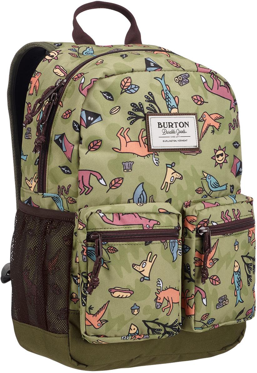 купить Рюкзак детский Burton Youth Gromlet Pack, 11055111300NA, зеленый, коричневый, 15 л недорого