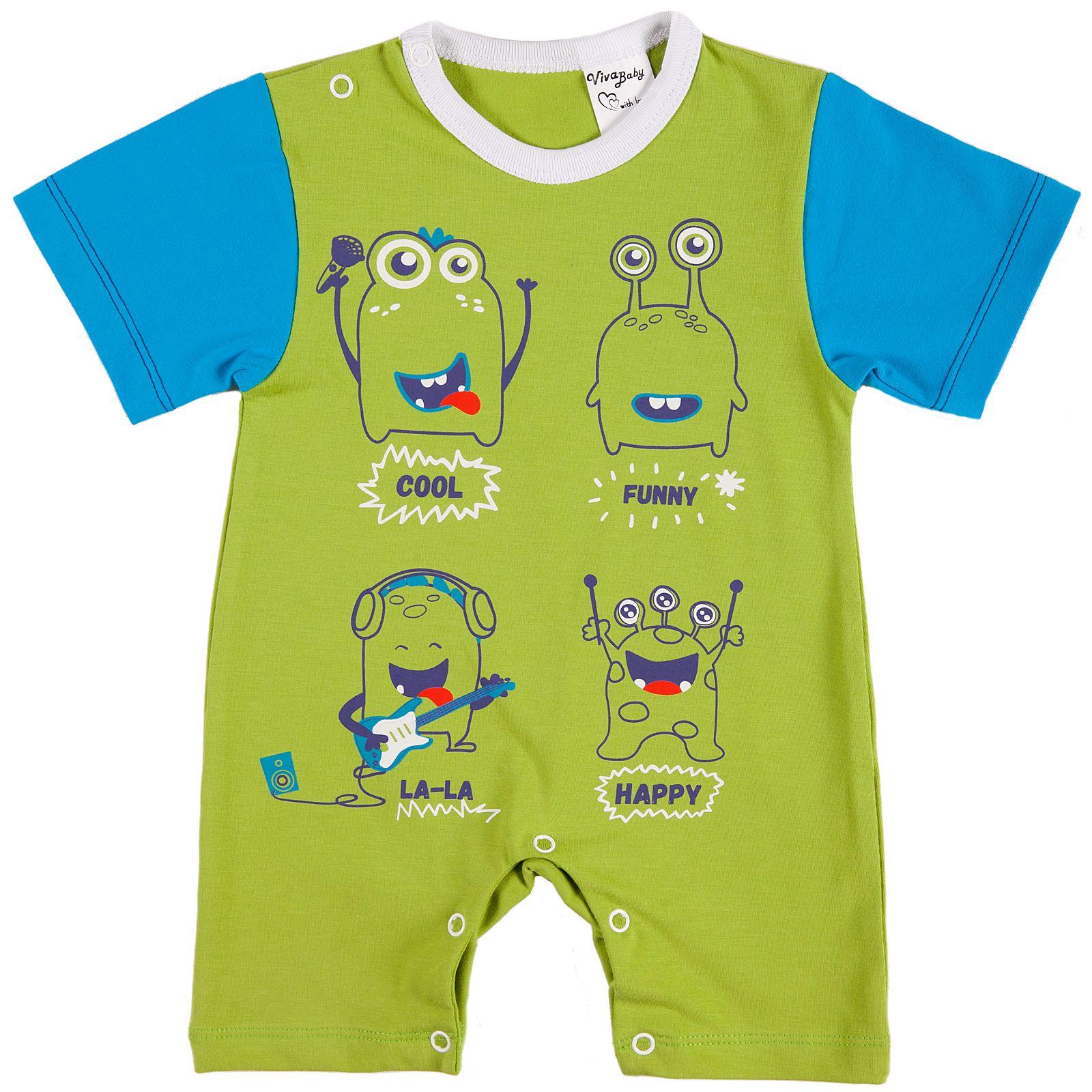 Боди Viva Baby боди и песочники mini world песочник и косынка для мальчика mw14332