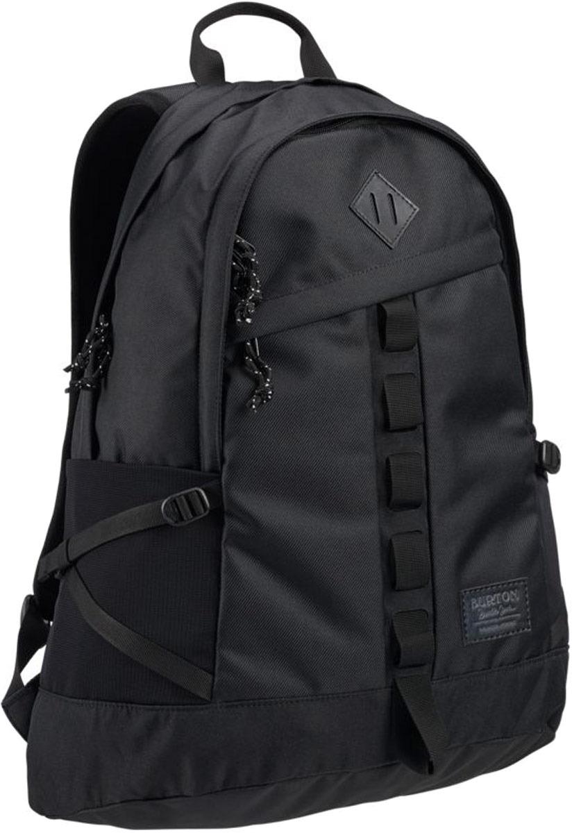 Рюкзак Burton Shackford Pack, 13648108003NA, черный, 24 л burton рюкзак cadet pack syrup herringbone win14