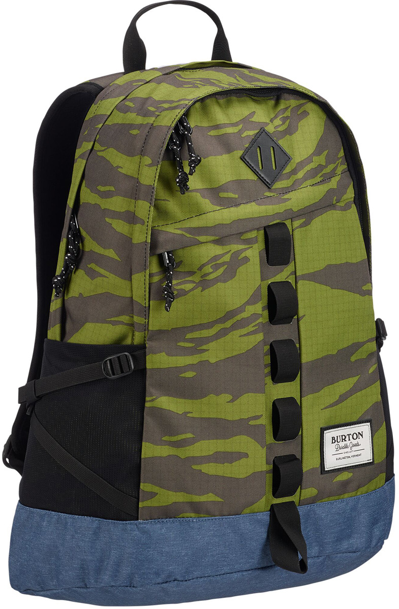 Рюкзак Burton Shackford Pack, 13648109300NA, зеленый, серый, 24 л burton рюкзак cadet pack syrup herringbone win14