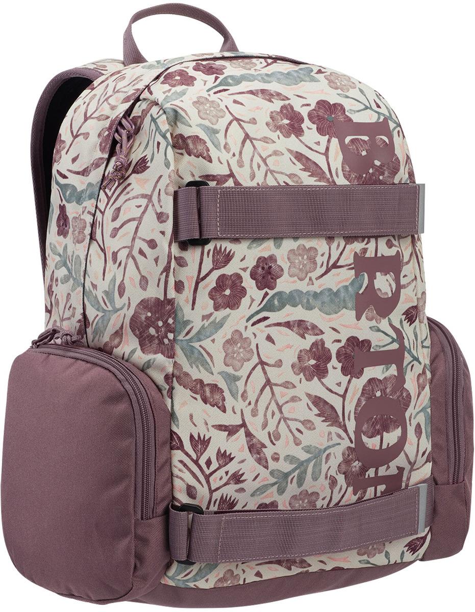 Рюкзак детский Burton Youth Emphasis, 13660109500NA, светло-розовый, бежевый, 18 л