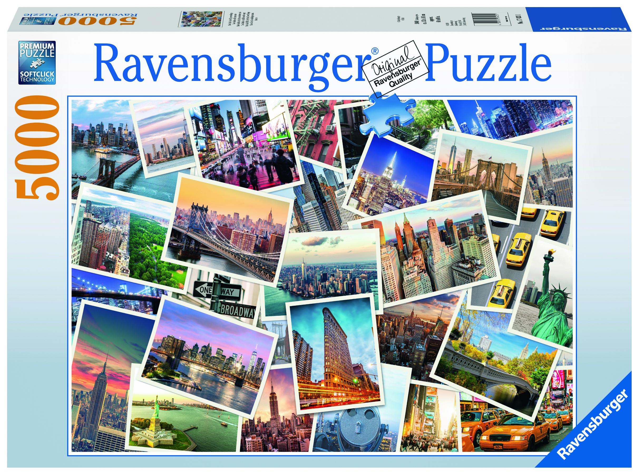 Пазл Ravensburger 17433 пазл ravensburger пряжа 19515