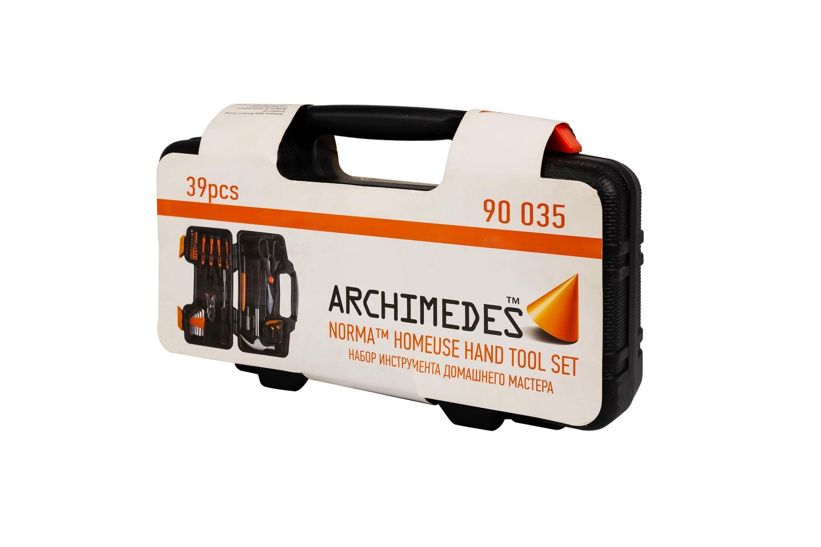 Набор инструментов Archimedes Набор инструмента Norma , 39 шт набор инструментов archimedes набор домашнего мастера 113 шт