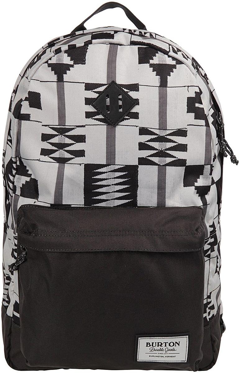 Рюкзак Burton Kettle Pack, 16336107250NA, серый, светло-серый, 20 л burton рюкзак cadet pack syrup herringbone win14