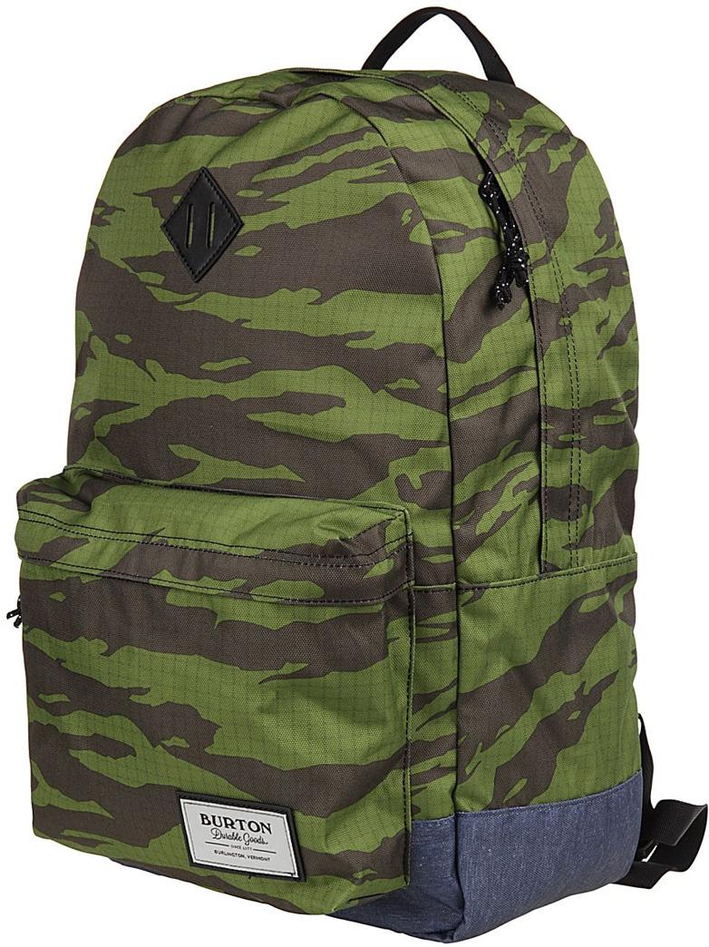 Рюкзак Burton Kettle Pack, 16336107300NA, зеленый, серый, 20 л burton рюкзак cadet pack syrup herringbone win14