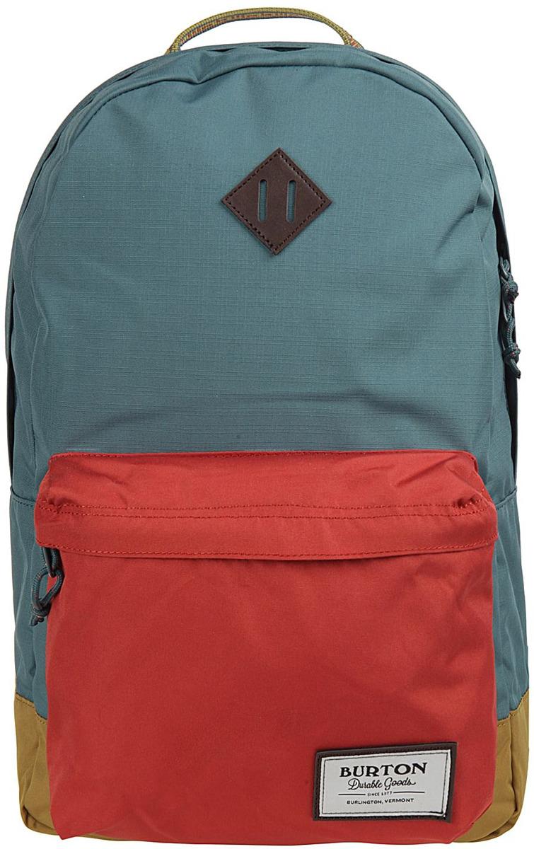 Рюкзак Burton Kettle Pack, 16336107400NA, голубой, красный, желтый, 20 л burton рюкзак cadet pack syrup herringbone win14
