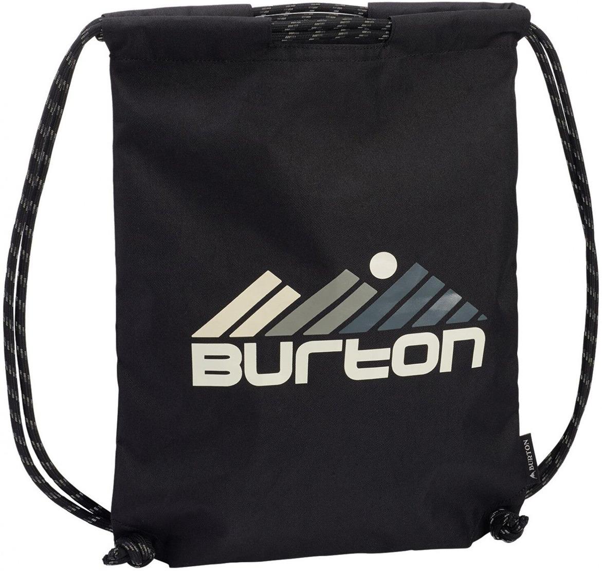 Рюкзак Burton Cinch Bag, 16697106002NA, черный, 13 л burton рюкзак cadet pack syrup herringbone win14