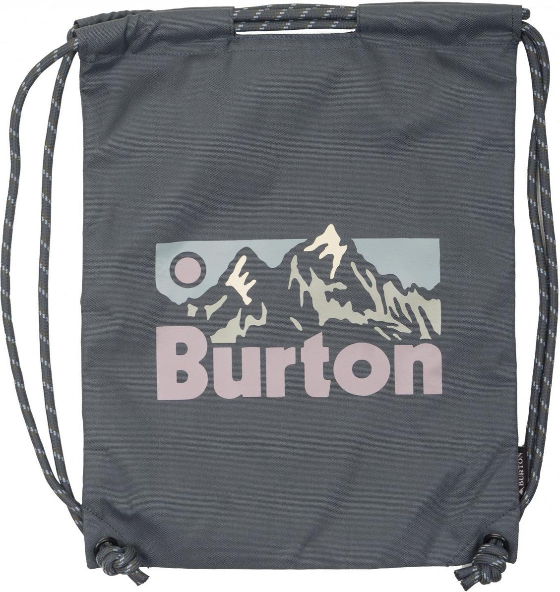 Рюкзак Burton Cinch Bag, 16697106020NA, серый, 13 л burton рюкзак cadet pack syrup herringbone win14