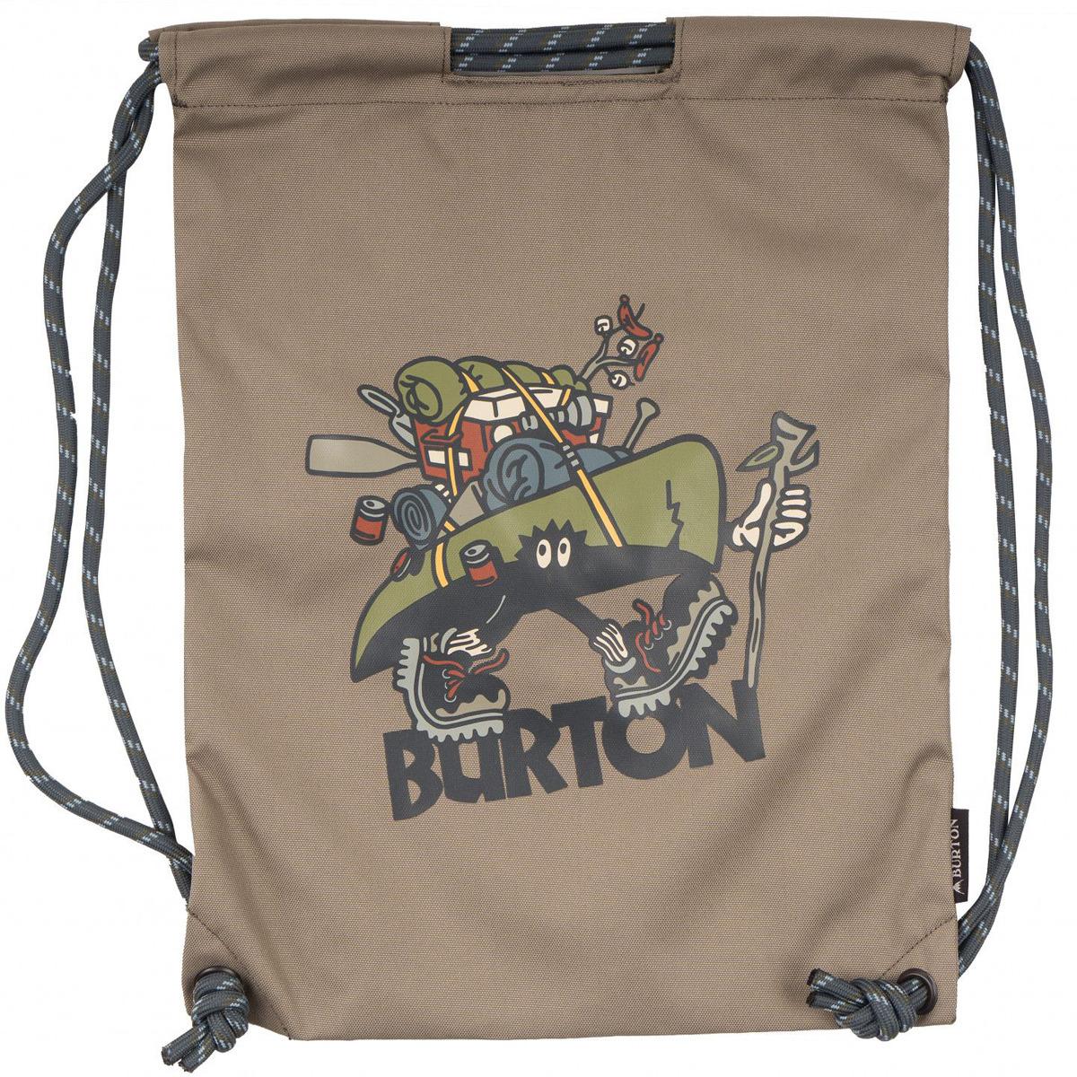 Рюкзак Burton Cinch Bag, 16697106250NA, бежевый, 13 л burton рюкзак cadet pack syrup herringbone win14