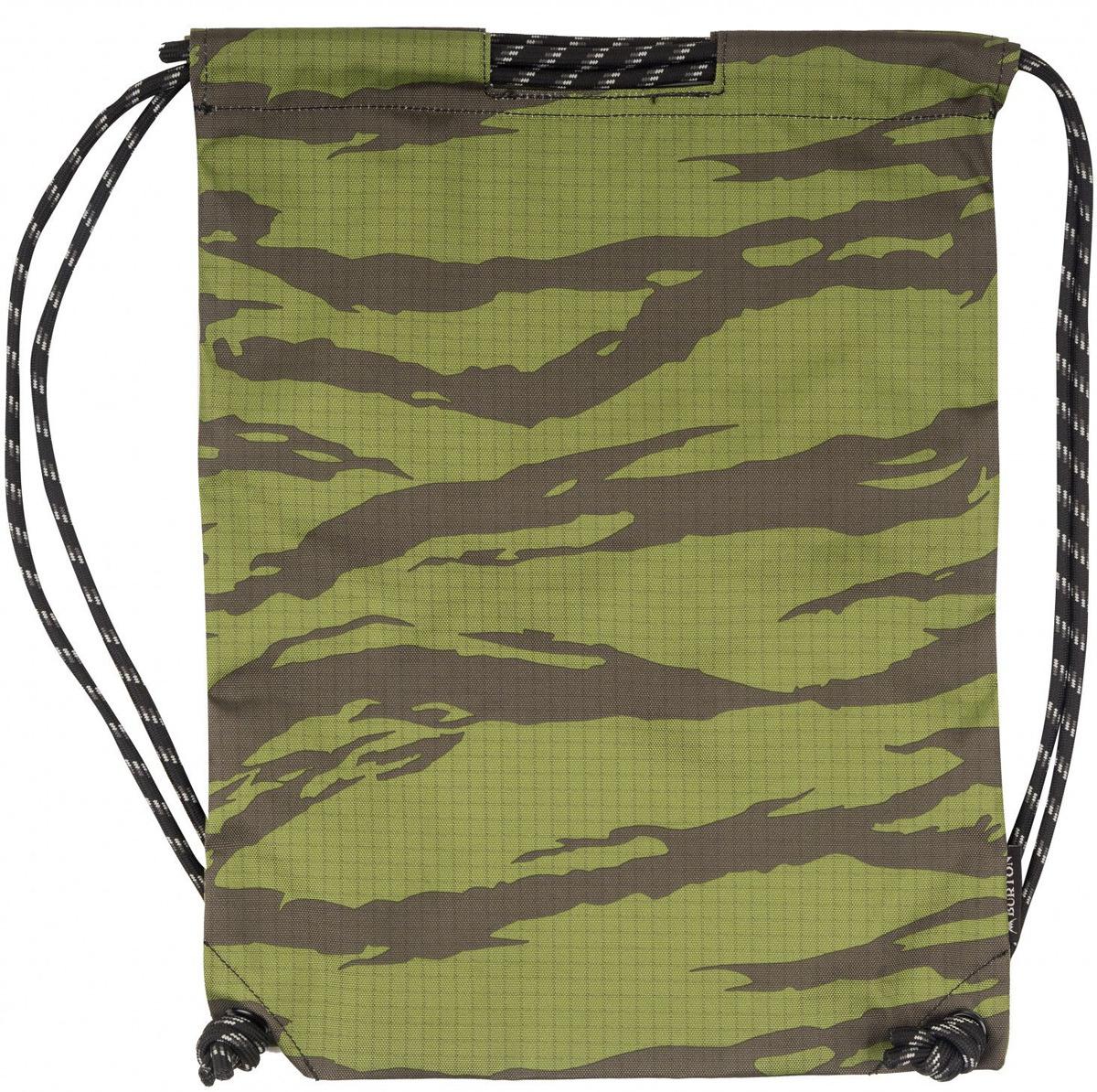 Рюкзак Burton Cinch Bag, 16697106300NA, зеленый, серый, 13 л burton рюкзак cadet pack syrup herringbone win14