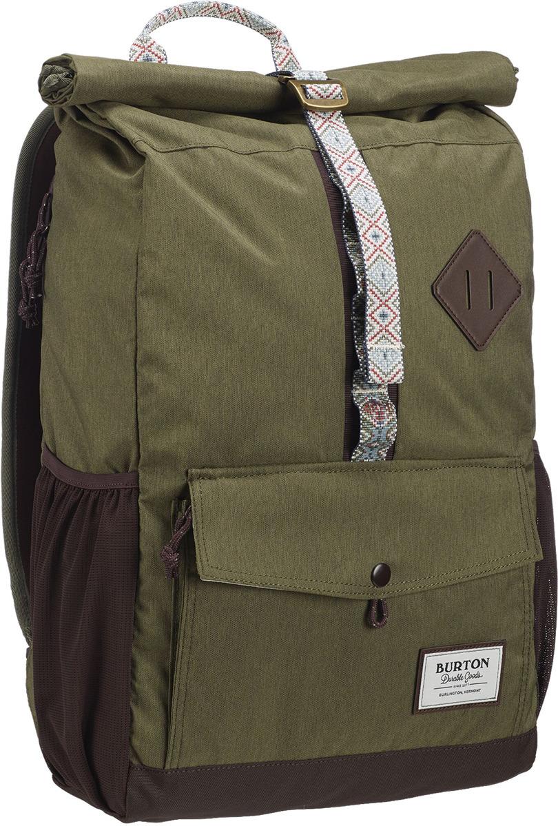 Рюкзак Burton Export Pack, 17296105300NA, оливковый, 25 л burton рюкзак cadet pack syrup herringbone win14