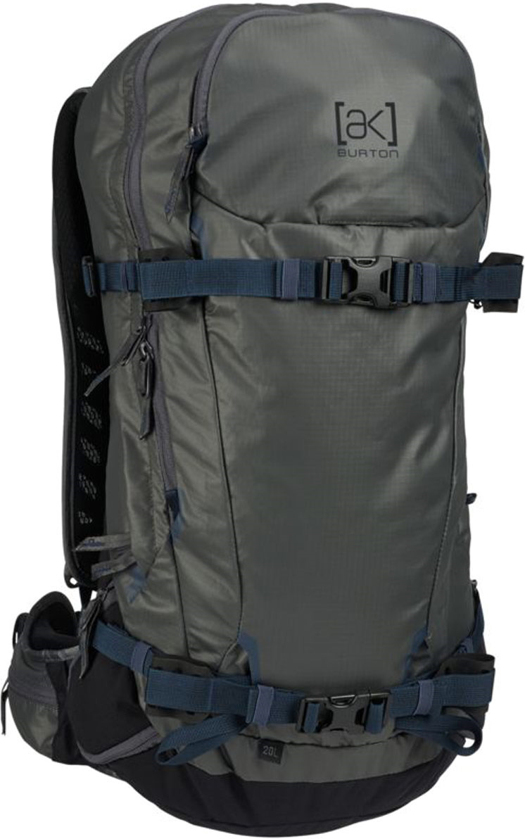 Рюкзак Burton Incline Pack, 18518101026NA, серый, синий, 20 л burton рюкзак cadet pack syrup herringbone win14