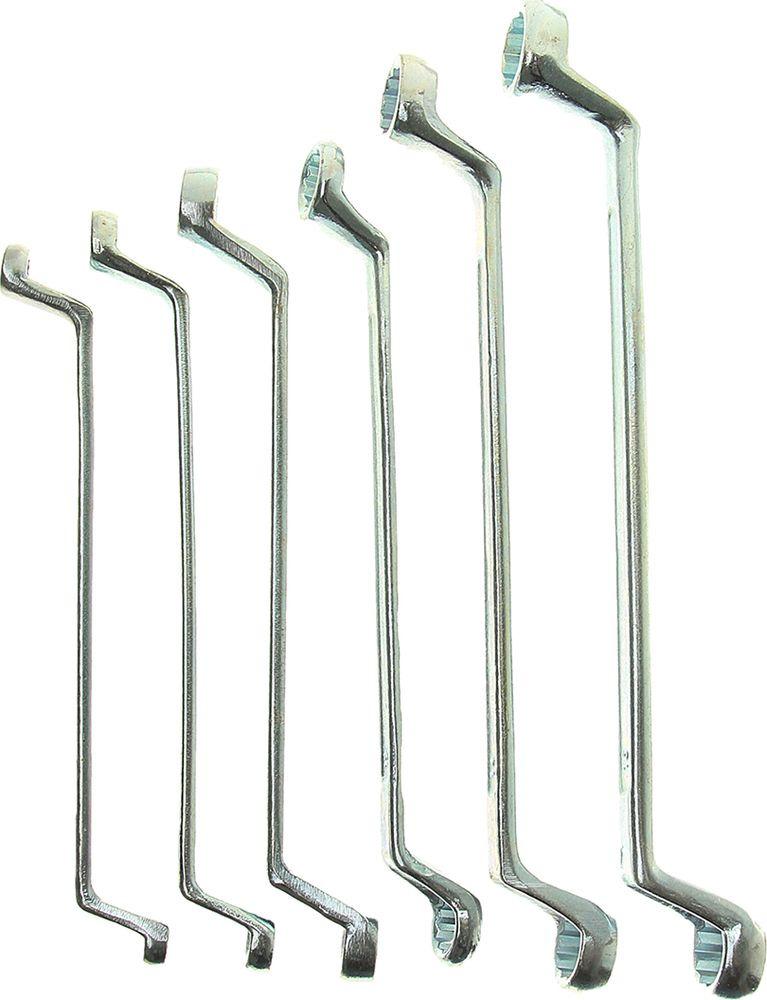 Набор накидных ключей Tundra Basic, хромированный, 6-17 мм, 878099, 6 шт
