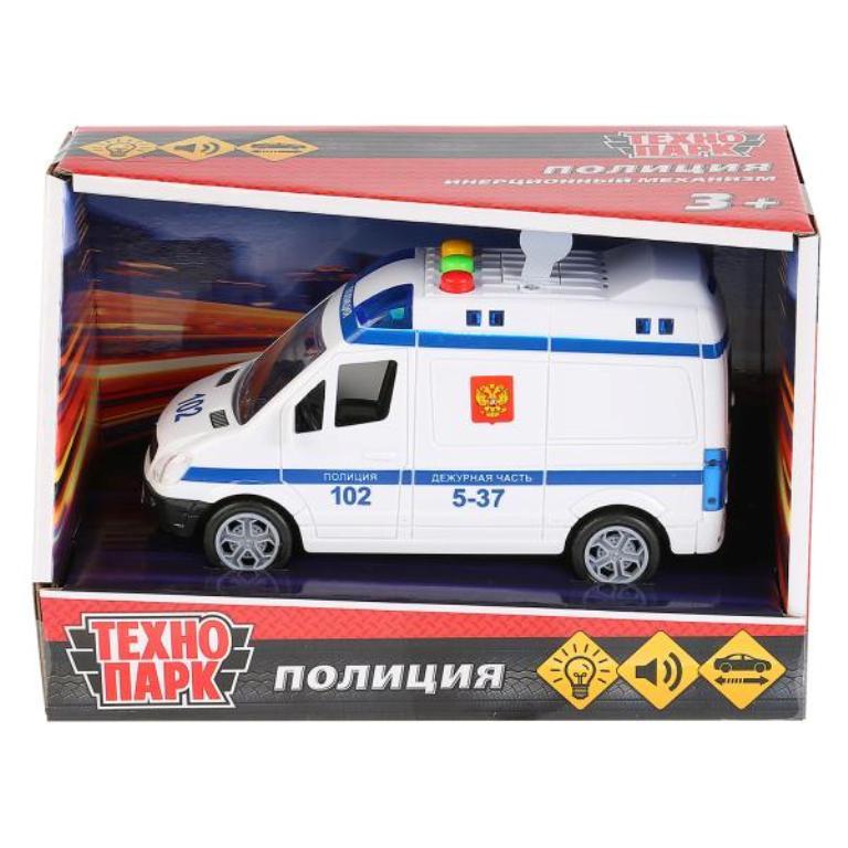 Машинка-игрушка Технопарк 1630072-R