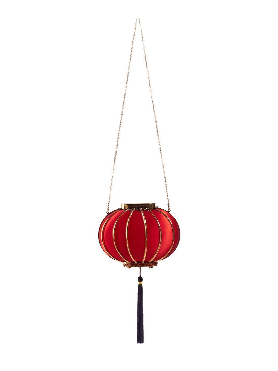 Фото - Клатч Charlotte Olympia LANTERNкрасный charlotte olympia кошелек из металлизированной кожи pouty purse