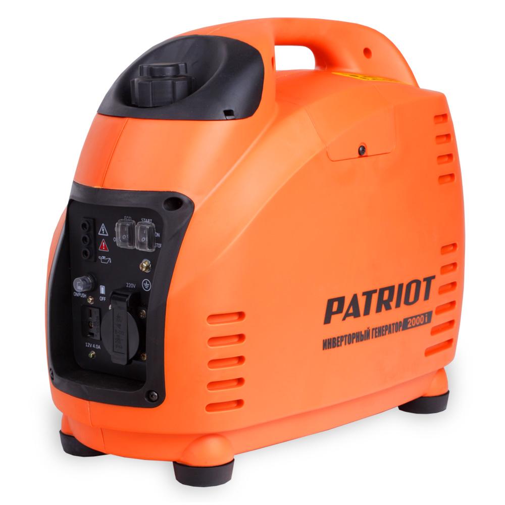 Генератор PATRIOT 2000I генератор инверторный patriot 2000i
