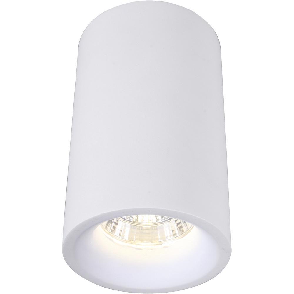 Потолочный светильник Arte Lamp A3105PL-1WHA3105PL-1WHпотолочный светильник arte lamp a3105pl-1wh, коллекция ugello потолочный светильник arte lamp a3105pl-1wh с алюминиевой арматурой и металлическим корпусом цилиндрической формы белого цвета. светодиодная лампочка, которой комплектуется светильник, немного вдавлена вглубь корпуса. сдержанная по дизайну модель с универсальным внешним видом удачно впишется в самые разнообразные стили интерьеров. потолочные светильники этой серии – лучший способ создать нейтральное основное освещение в помещении, интерьер которого потом можно дополнить самыми разнообразными дизайнерскими светильниками. серия светильников ugello подойдет для освещения как домашних помещений (кухни, столовые, прихожие, спальни), так и общественных мест (офисы, магазины, рестораны, банки, гостиницы). диаметр светильника 8 см. модель оснащена одной led-лампочкой мощностью 5 вт. площадь освещения 2,5 кв.м.