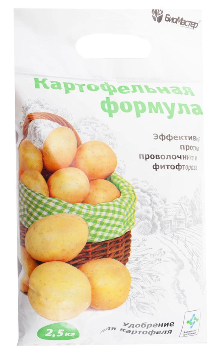 """Удобрение Биомастер Комплексное органоминеральное """"Картофельная формула"""" для картофеля, 2,5кг"""
