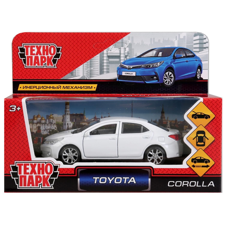 Машинка-игрушка Технопарк COROLLA-WT машинка игрушка технопарк corolla p