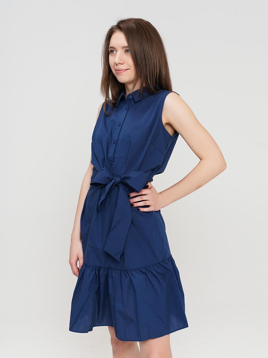 Платье ТВОЕ, цвет: темно-синий. A0851. Размер XL (50) юбка baon цвет темно синий b478016 dark navy размер xl 50