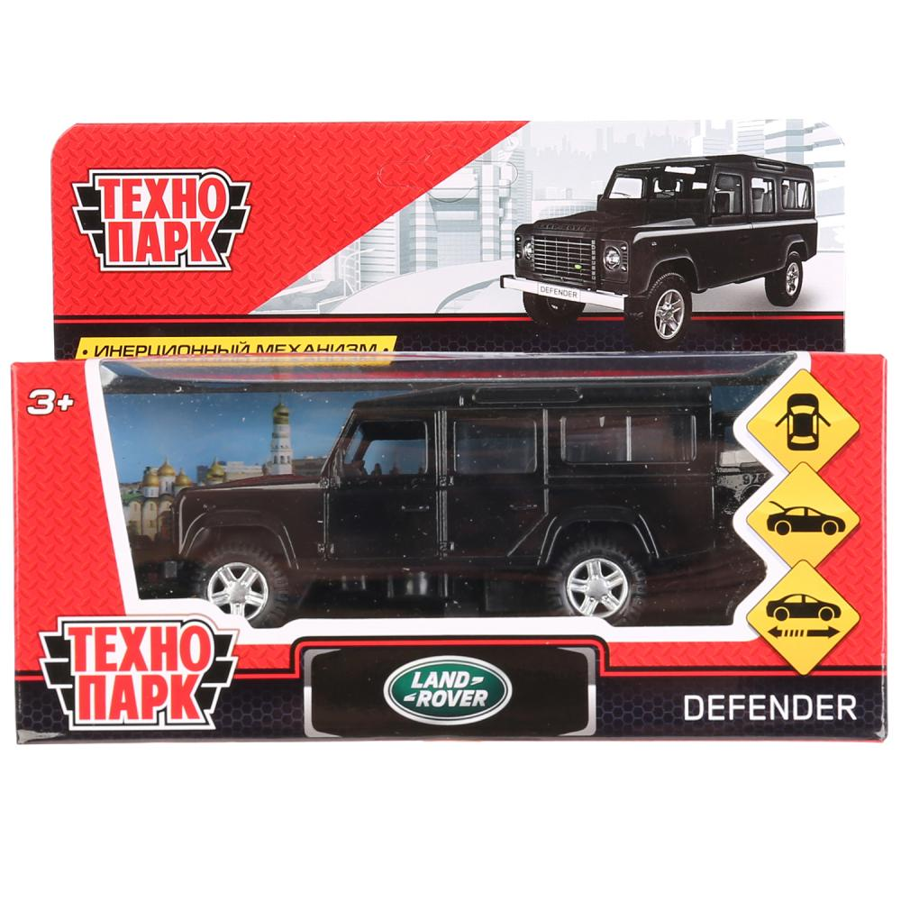 Машинка-игрушка Технопарк DEFENDER-BK bburago коллекционная машинка bburago land rover defender 110 1 50